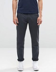 Серые джинсы слим с покрытием Esprit - Серый