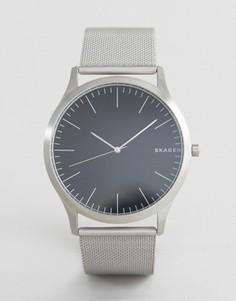 Серебристые часы Skagen SKW6334 Jorn 40 мм - Серебряный