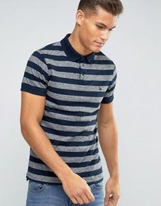 Темно-синяя футболка‑поло Jack Wills - Темно-синий