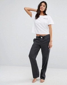 Серые меланжевые фланелевые штаны для дома Jack Wills Frethene - Серый
