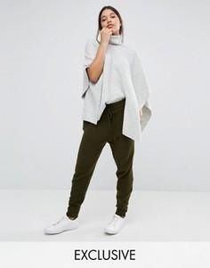 Спортивные штаны с молниями Micha Lounge - Зеленый