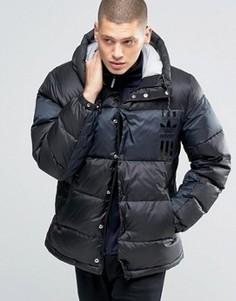 Черная стеганая куртка adidas Originals ID96 AY9155 - Черный