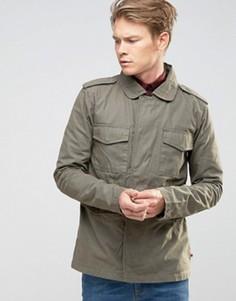 Куртка в стиле милитари Bellfield - Зеленый