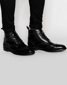 Ботинки броги Red Tape - Черный