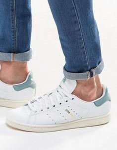Белые кроссовки adidas Originals Stan Smith S80025 - Белый