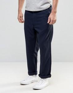 Свободные укороченные брюки G-Star Bronson - Темно-синий