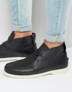 Кожаные ботинки Shoe The Bear Misu - Черный