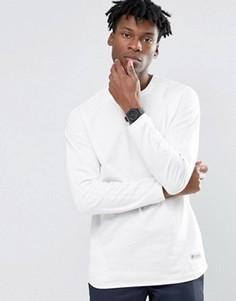 Белый лонгслив Adidas Originals Badlander AY8537 - Белый