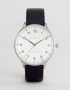 Часы с кожаным ремешком Newgate Blip - Черный