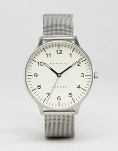 Часы с сетчатым браслетом Newgate Blip Milanese - Серебряный