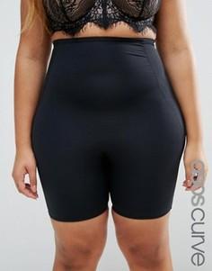 Корректирующие шорты ASOS CURVE - Черный