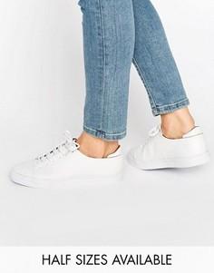 Кроссовки на шнуровке ASOS DARLEY - Белый