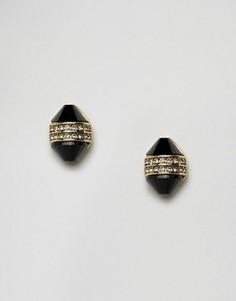 Серьги с камнями House Of Harlow - Золотой