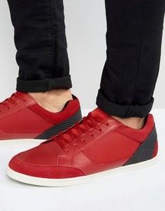 Кожаные кроссовки ALDO Sagrani - Красный