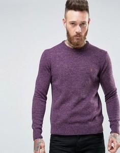Джемпер из овечьей шерсти Farah - Фиолетовый