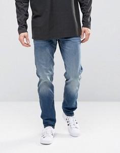 Голубые джинсы классического кроя Jack & Jones - Черный