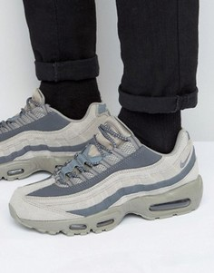 Бежевые кроссовки Nike Air Max 95 Essential 749766-200 - Бежевый