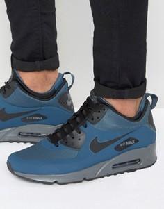Синие кроссовки Nike Air Max 90 Winterized 806808-400 - Синий
