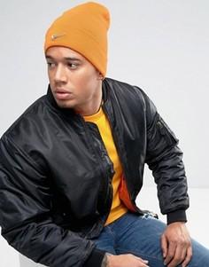 Оранжевая шапка-бини Nike 803734-801 - Оранжевый