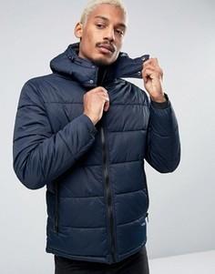 Стеганая куртка Esprit - Темно-синий