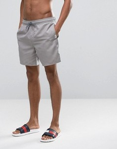 Серые шорты для плавания Hollister - Зеленый
