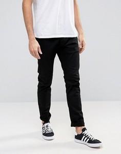Черные зауженные джинсы Esprit - Черный