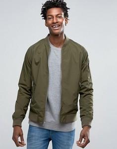 Зеленая водонепроницаемая куртка-пилот Penfield - Зеленый