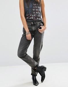 Прямые джинсы в винтажном стиле Diesel Ceedhy - Синий