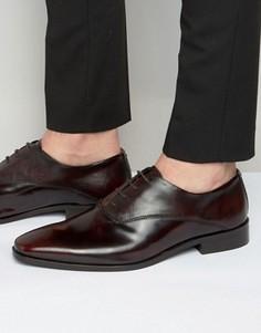 Кожаные оксфордские туфли KG Kurt Geiger Barkar - Красный