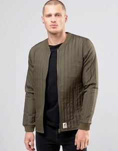 Стеганая куртка‑пилот Fat Moose Lumber - Зеленый