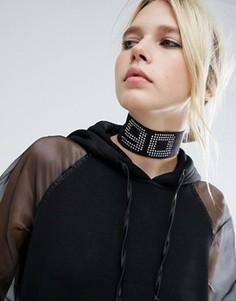 Ожерелье-чокер в стиле 90-х ASOS - Мульти