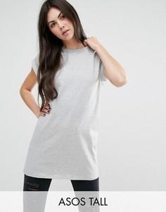Удлиненная футболка ASOS TALL The Ultimate Easy - Серый