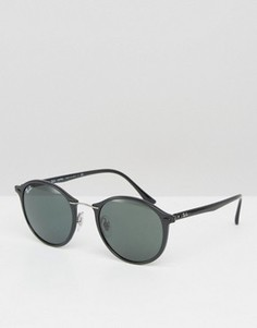 Круглые солнцезащитные очки Ray-Ban 0RB4242 - Черный