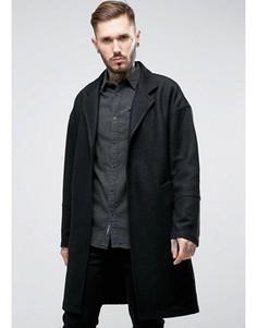 Oversize-пальто удлиненного кроя Religion - Черный