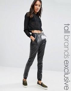 Полиуретановые спортивные штаны One Day Tall - Черный
