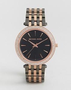 Часы цвета розового золота Michael Kors Darci - Золотой