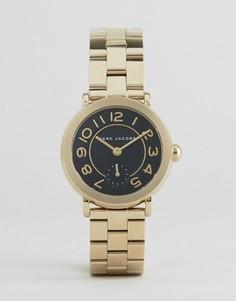 Золотистые металлические часы Marc Jacobs Riley - Золотой