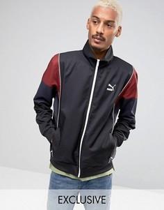 Черная спортивная куртка в винтажном стиле Puma эксклюзивно для ASOS - Черный