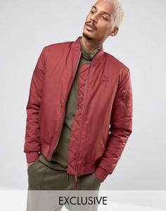Красная утепленная куртка-пилот Puma 57445801 - Красный