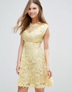Кружевное платье Y.A.S Molin Victorian - Черный