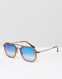 Солнцезащитные очки с синими стеклами Ray‑Ban 0RB4273 - Коричневый