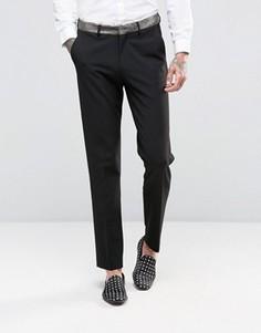 Зауженные брюки с контрастной отделкой ASOS - Золотой