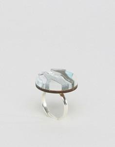 Кольцо с отделкой в мраморном стиле Wolf & Moon - Мульти