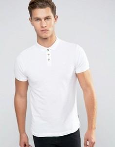 Классическая футболка-поло из ткани пике Bellfield - Белый