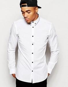 Рубашка с длинными рукавами New Look - Белый