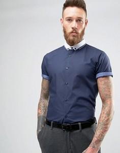 Рубашка классического кроя New Look - Темно-синий