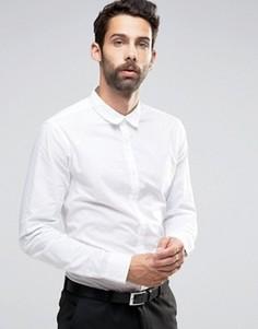 Строгая белая рубашка классического кроя New Look - Белый