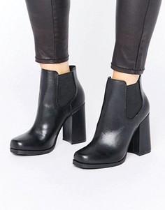 Ботильоны на каблуке New Look - Черный