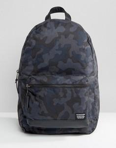 Рюкзак с камуфляжным принтом New Look - Синий