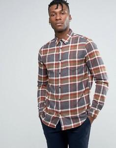 Клетчатая рубашка стандартного кроя New Look - Stone